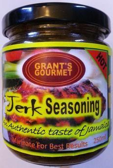 http://www.grantsgourmet.com/home.html  Grant's Gourmet Jerk Seasoning