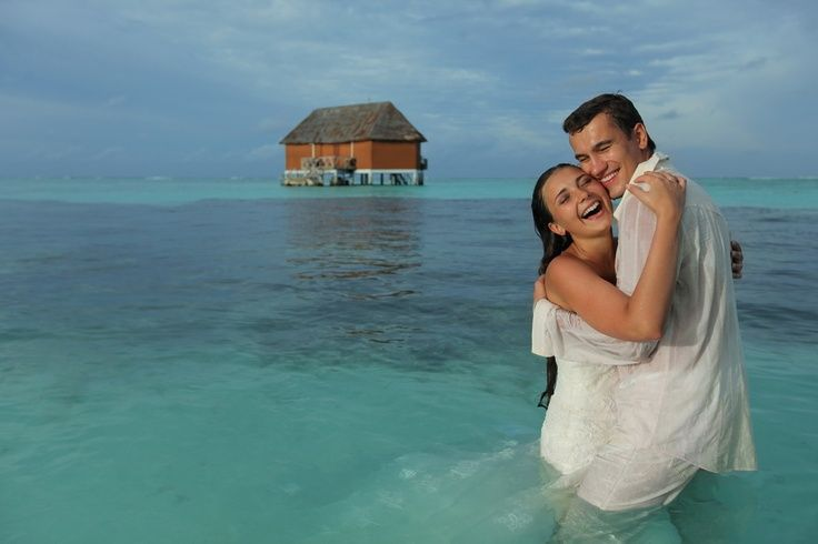 Wet Dreams in Honeymoon Maldives
