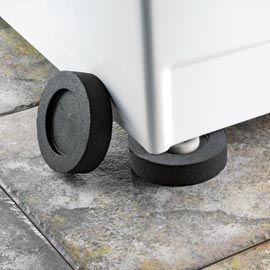 VibeAway pads - stop washer/dryer from shaking and walking. I need these!