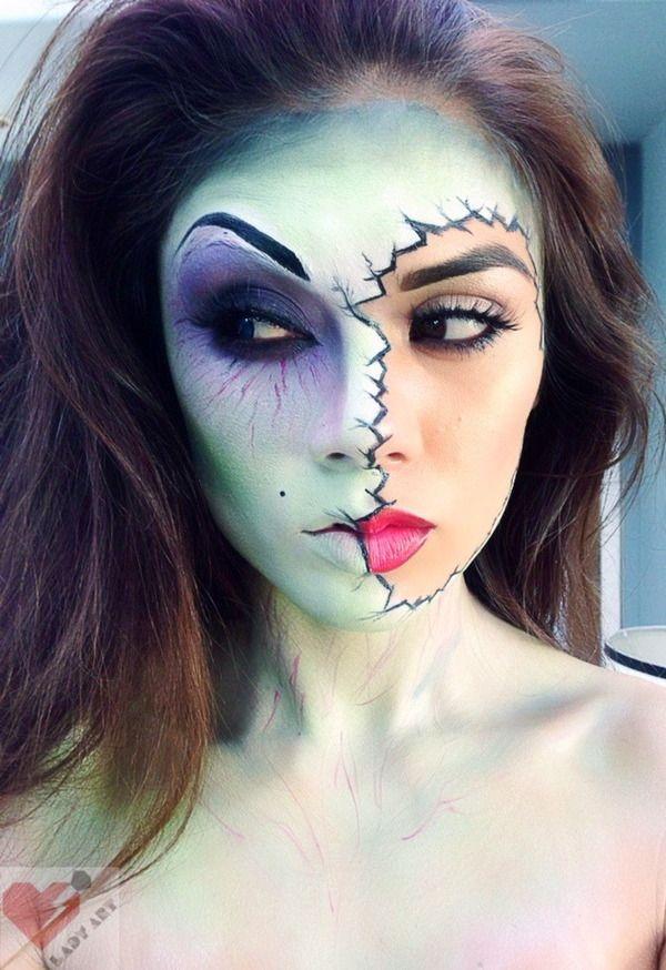 Cracked Mask facepaint