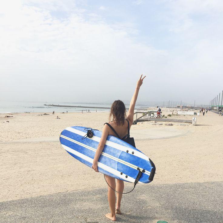 Surf!  www.ejnets.blogspot.cz #ejnets #surf #love #travel #ocean #beachlife #travelblogger #portugal #lisboa