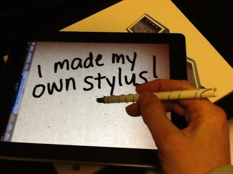 Make a stylus for less than a quarter!Touch Screens, Iphone App, Diy Stylus, Accurate, Fingers, Couples App, How To Diy, Drawing, The Roller Coasters