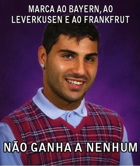 Quaresma Meme - Bad Luck Quaresma - Porto Frankfurt