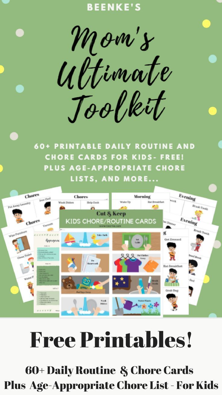 Free Printables Of Daily Routine Schedule And C Charts Your Children Will Love The Fun Images No More Struggles Get To School On Time With