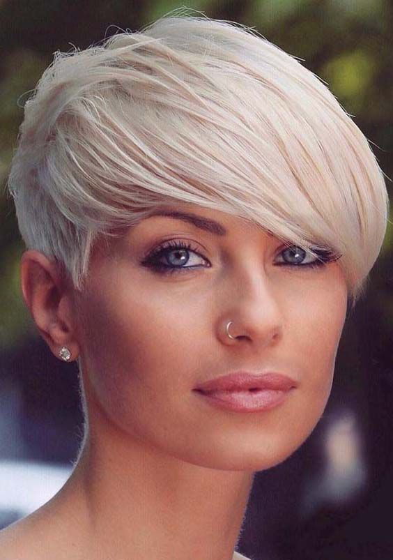 58 Short Blonde Pixie Hairstyles For 2018 Funky Cuts Colours