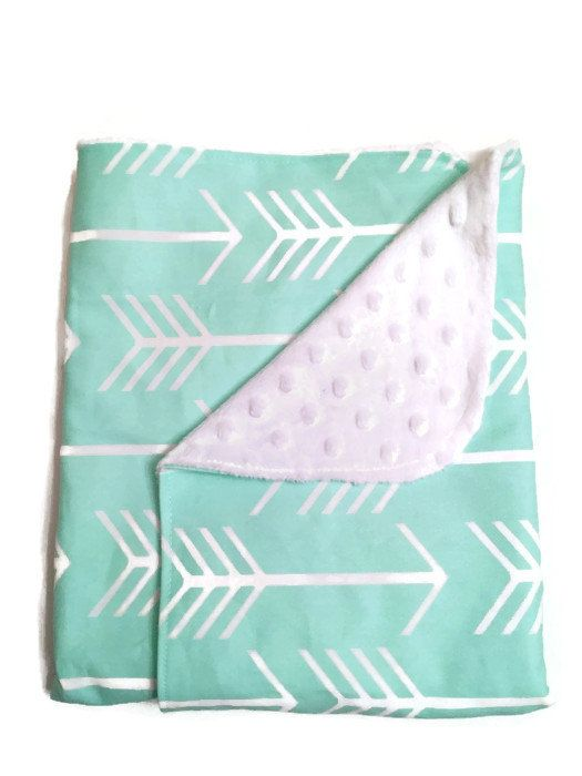 cute arrow baby blanket
