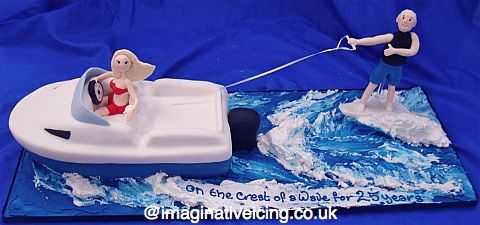 17 Best Images About Wakeboarding Cakes On Pinterest