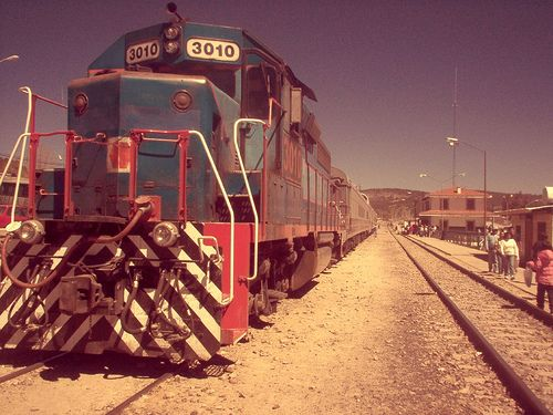Train in Creel Chihuahua