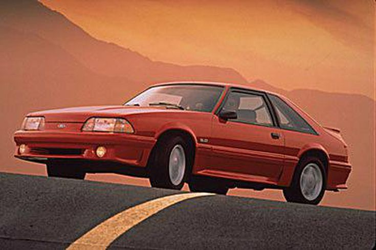 View Pictures of Vintage Ford Mustangs: 1993 Ford Mustang GT