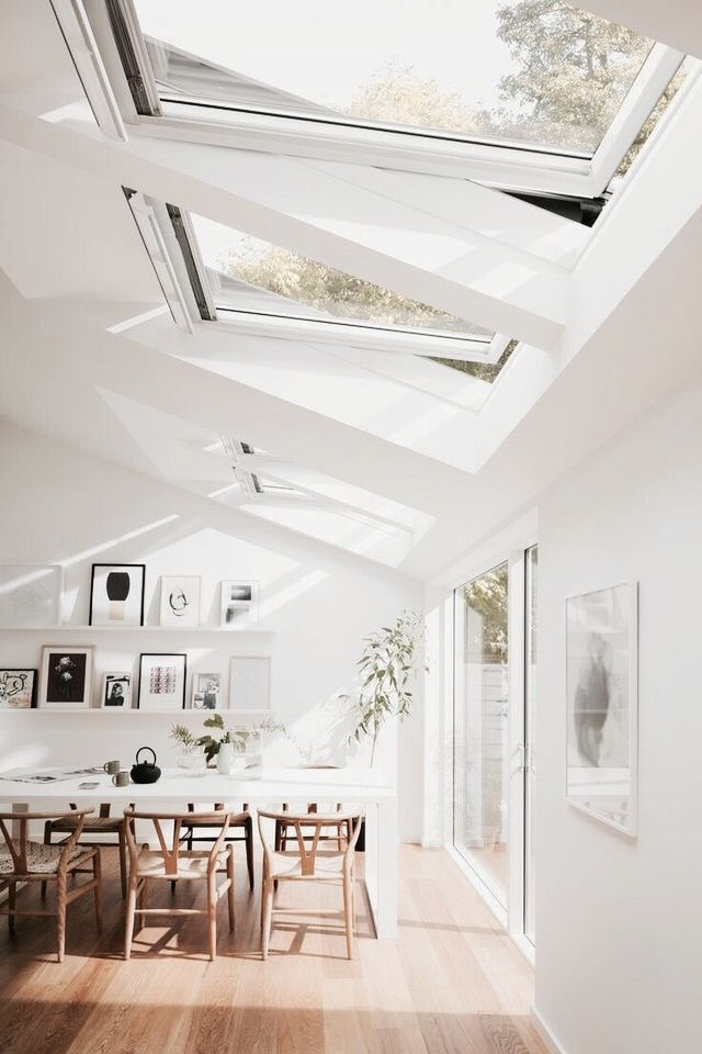 Bright and airy: just how we like our spaces!