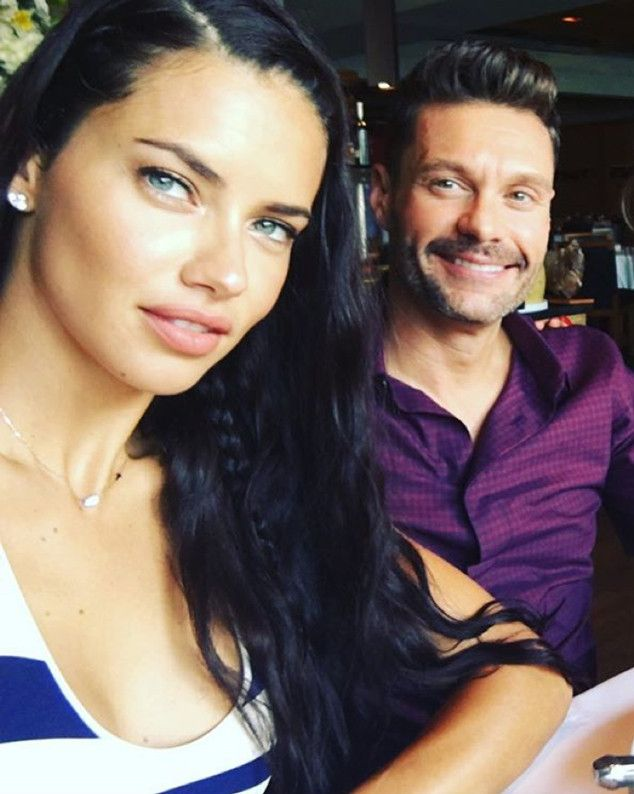 Ryan Seacrest and Adriana Lima ar  Dating—Get the inside track on the New Couple…