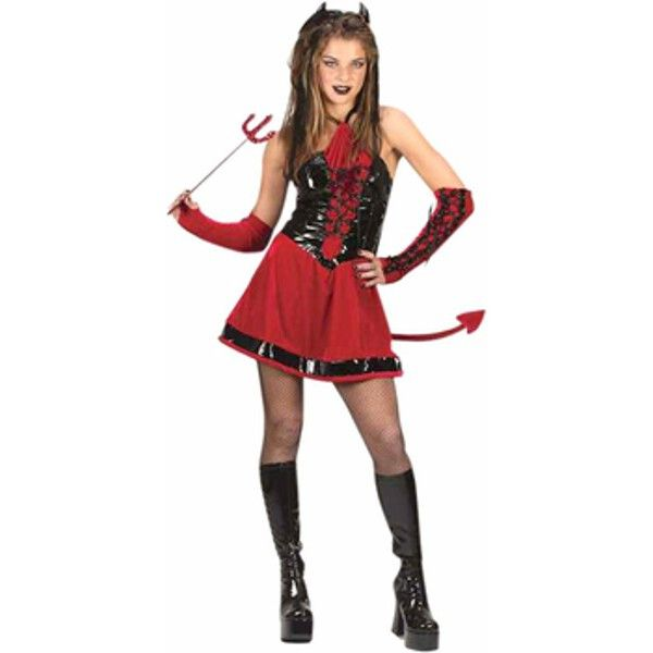 teen corsette devil girl costume - Daisy Dukes Halloween Costume