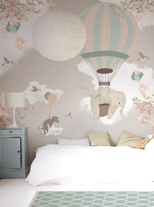 Little Hands Wallpaper Mural - Falling on Behance