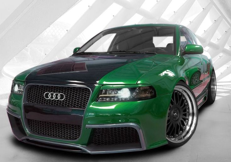 wide body kits for 1996 audi a 4 quattro | Complete Front Bumper Complete Rear Bumper Left and Right Side Skirts ...