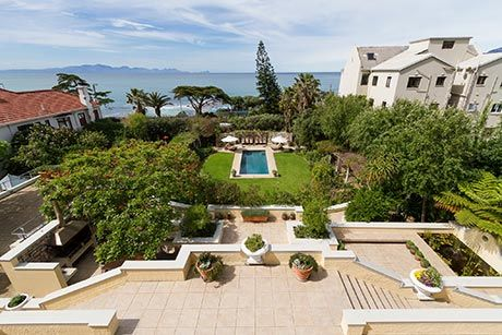 SYMPHONY, St James Self Catering Accommodation, Cape Town - Symphony offers magnificent sea and mountain views. Large, welcoming terraces with ample living space along with attention to detail coupled with a sense of grandeur will leave you feeling like royalty.