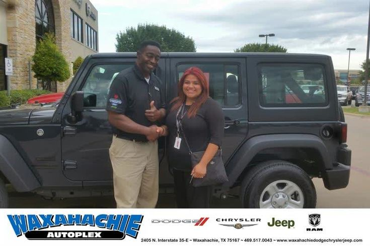 Happy Anniversary to Danielle on your #Jeep #Wrangler Unlimited from Will Jordan at Waxahachie Dodge Chrysler Jeep!  https://deliverymaxx.com/DealerReviews.aspx?DealerCode=F068  #Anniversary #WaxahachieDodgeChryslerJeep