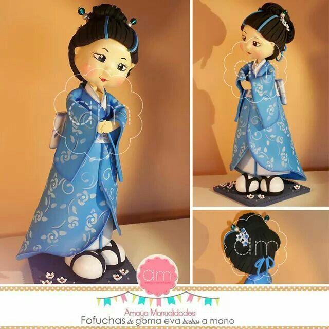 Geisha japonés