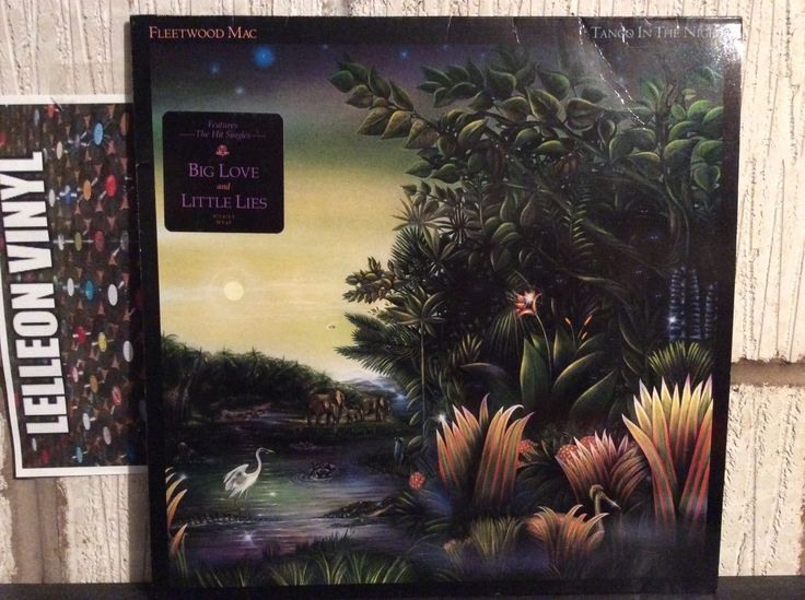Fleetwood Mac Tango In The Night LP Album Vinyl Record 925471-1 Little Lies Music:Records:Albums/ LPs:Rock:Progressive