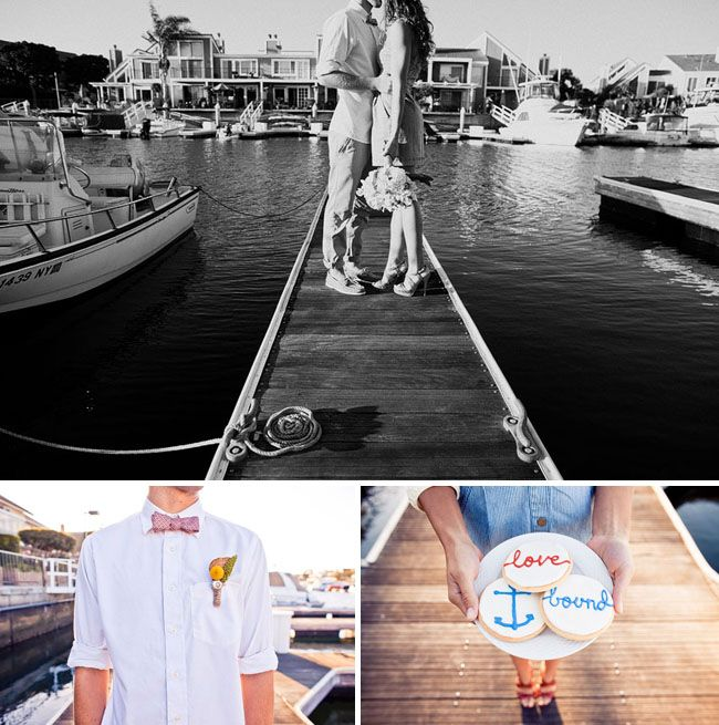 nautical wedding theme.
