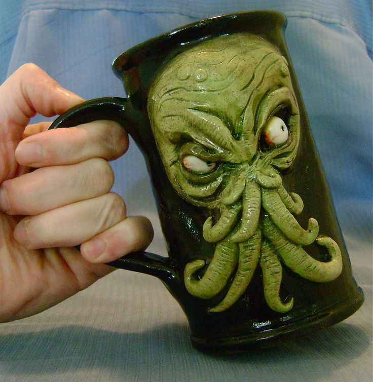 Unique Mugs For Sale Part - 48: Cthulhu Beer Mug- For Sale By Thebigduluth On DeviantART