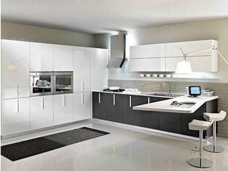 Lacquered Kitchen With Peninsula MAGIKA | Composition 06   Pedini · Moderne  Küche DesignModerne ...