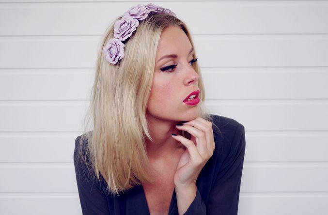 via http://hanna.metromode.se: Flowers Coronation, Flowers Hair, Beautiful Hair, Hair Accessories