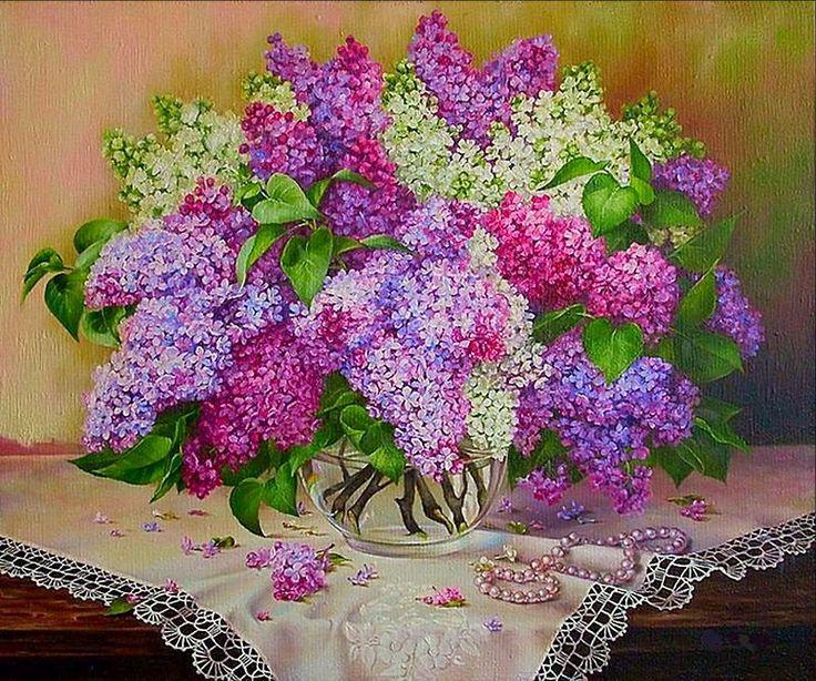 гама сирень - Схемы вышивки - dianka5092008 - Авторы - Портал «Вышивка крестом»
