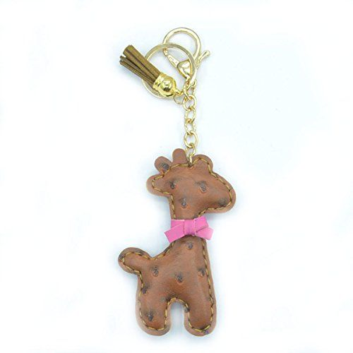 Handmade Faux Leather Cute Fawn Key Chains Promotional Gi... https://www.amazon.com/dp/B01LX3JW12/ref=cm_sw_r_pi_dp_x_3UJcybNDHNWZ2
