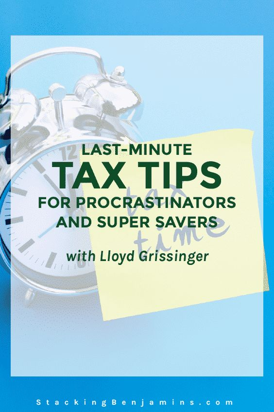 Lloyd Grissinger joins us on Joe's dad's shortwave radio to tackle tax tips for both procrastinators AND for people looking to maximize their tax savings.