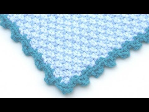 Crochet Picot Edgings - This is a tutorial for knitters but will definitely work with crocheters also. A good video tutorial.