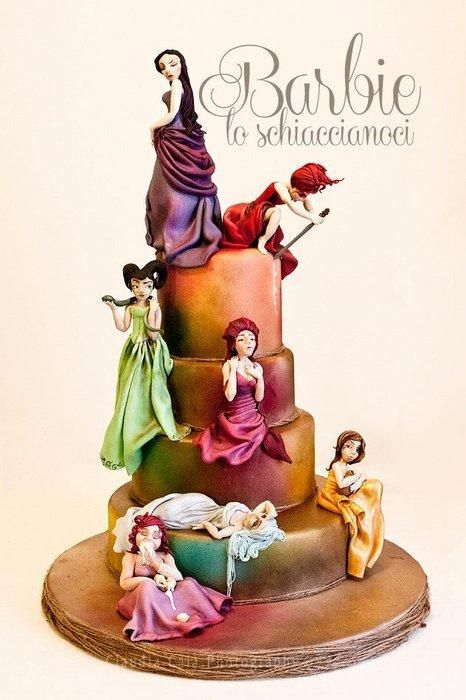 7+DEADLY+SINS+-+Cake+by+Barbie+lo+schiaccianoci+(Barbara+Regini)