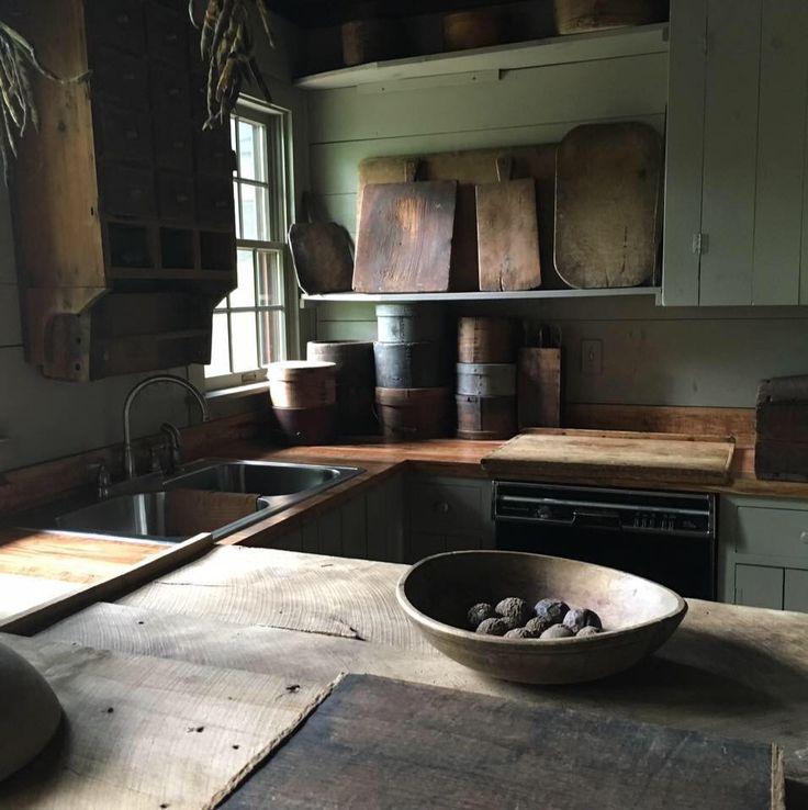 1636 best Kitchens / Buttery images on Pinterest | Primitive decor ...