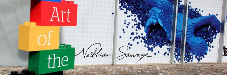 LEGO sculptor, Nathan Sawaya... incredible vision and talent