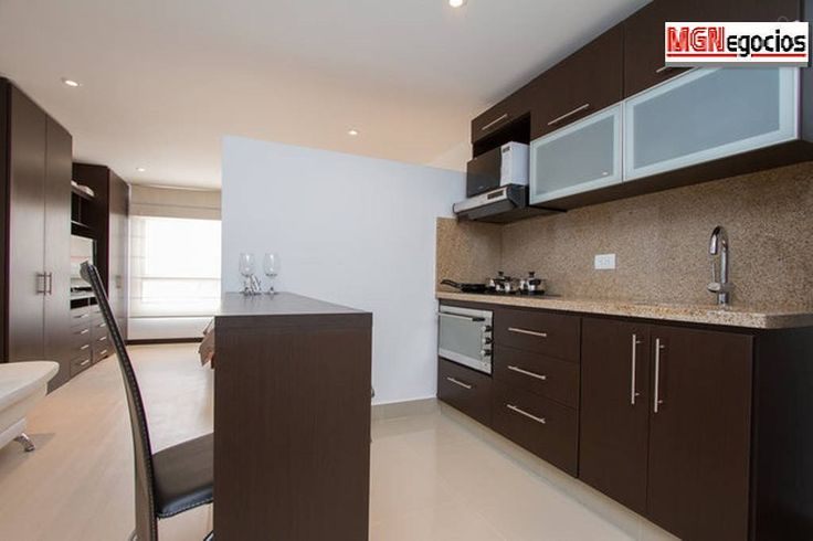 Clean, full kitchen with all cooking utensils necessary. Digital Stove. There is always plenty of space for you to store your own food, also a full fridge for your food and beverages