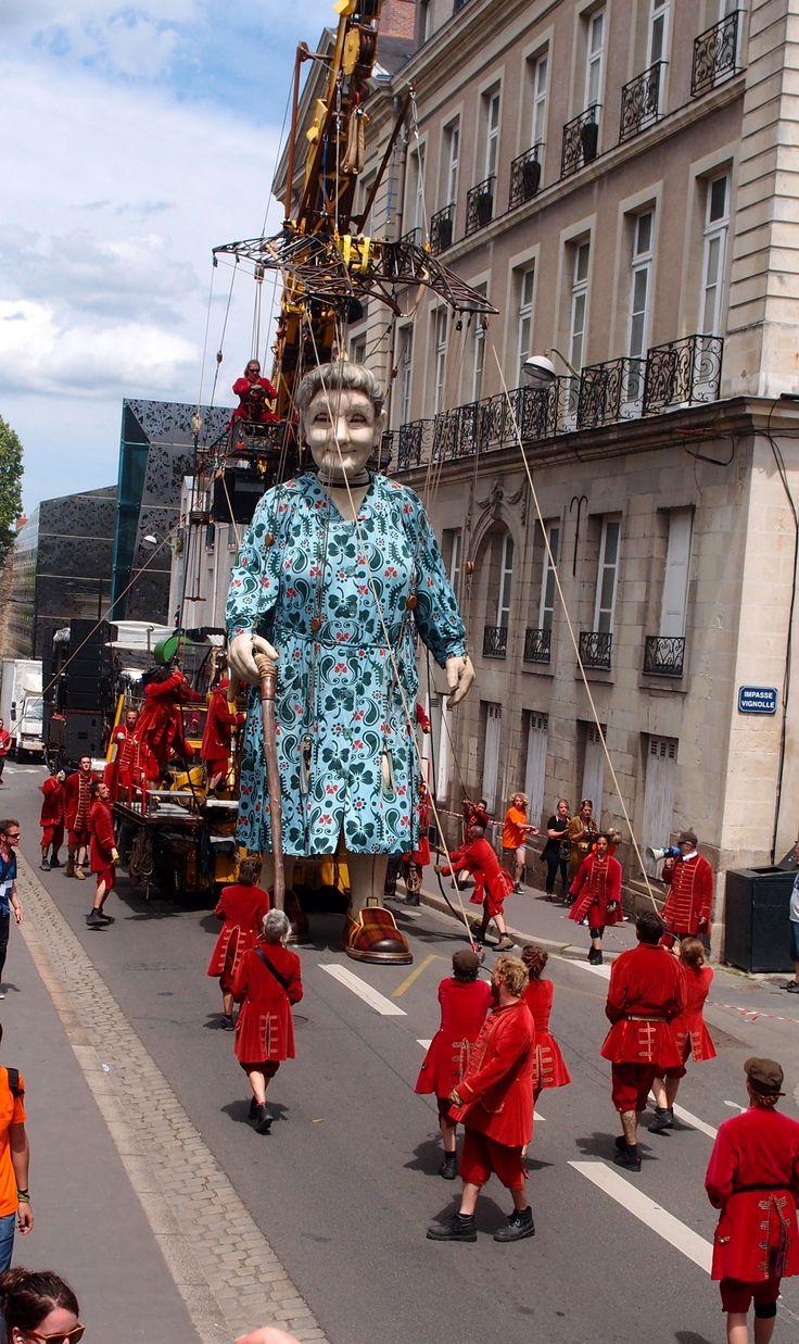 Royal de Luxe - Nantes 8 juin 2014