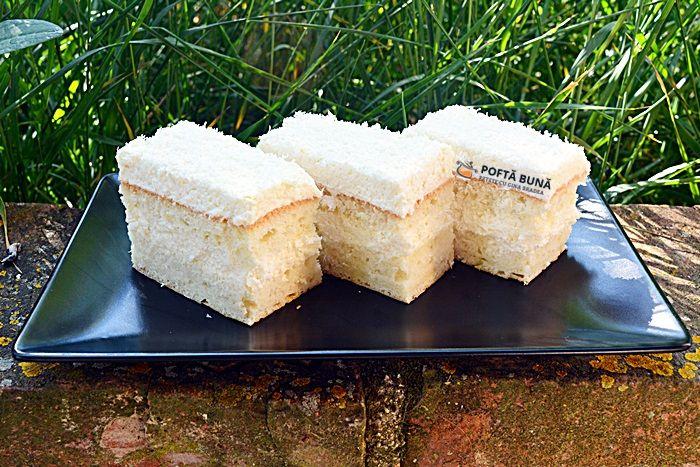 Prajitura Rafaello cu blat din albusuri si nuca de cocos #reteteleGinei #poftabunacuGinaBradea #retete #reteteculinare