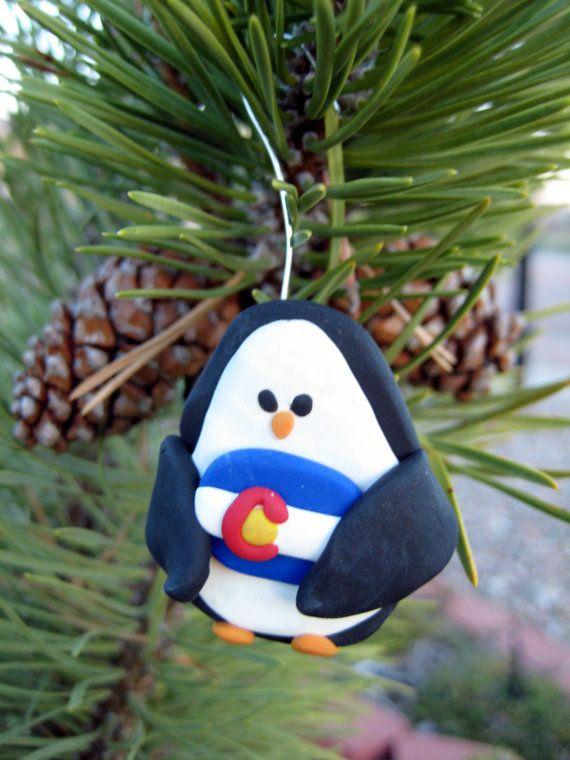 Wonderful Colorado Christmas Ornaments Part - 7: Colorado Proud Penguin Christmas Ornament By WeAreColoradoCrafts
