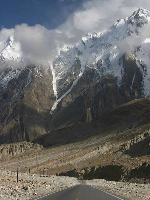 Karakorum Highway to Pakistan, don't think I want to go there for a while