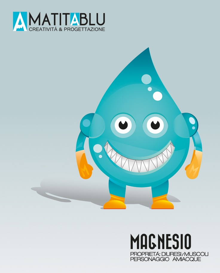 Sketch Water Mascotte