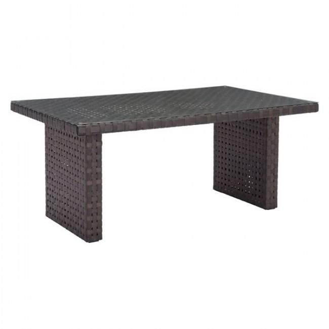 ZUO Modern Pinery Dining Table Brown 703789 Tables