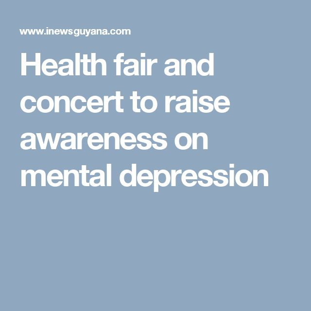 how to raise awareness for mental health