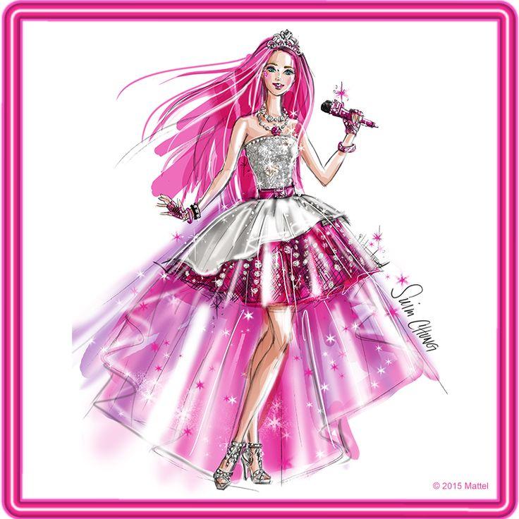 Barbie Rock N Royals Wallpaper: 40 Best Images About Barbie Drawings On Pinterest