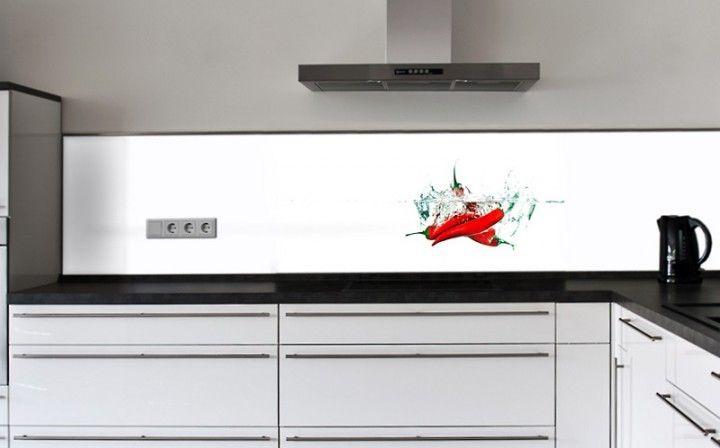 Küchenrückwand ESG Glasbild 6mm Fliesenspiegel Pinterest - motive für küchenrückwand