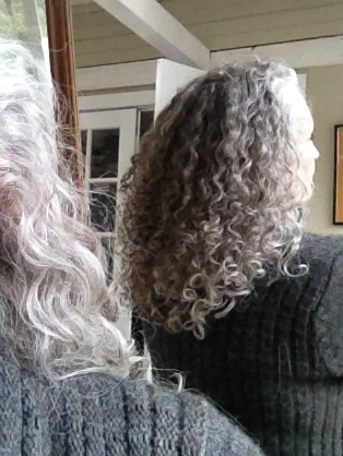 Crochet Braids Edmonton : 1000+ images about My gray curls on Pinterest Naturally curly, Grey ...
