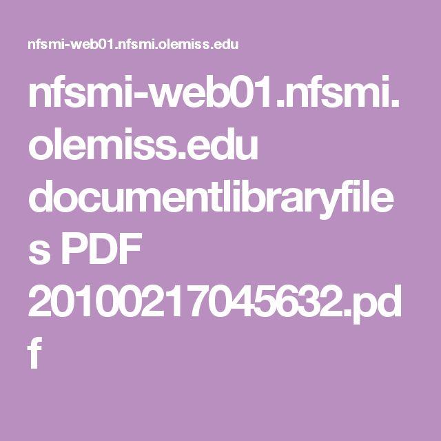nfsmi-web01.nfsmi.olemiss.edu documentlibraryfiles PDF 20100217045632.pdf