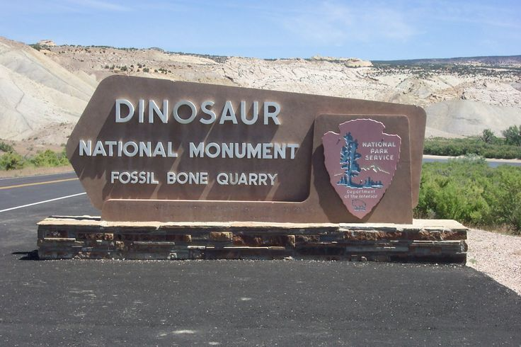 Dinosaur National Monument - Colorado, there is also a lot of archaeologically-related stuff there