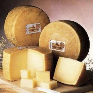 Manchego cheese, made from sheep's milk