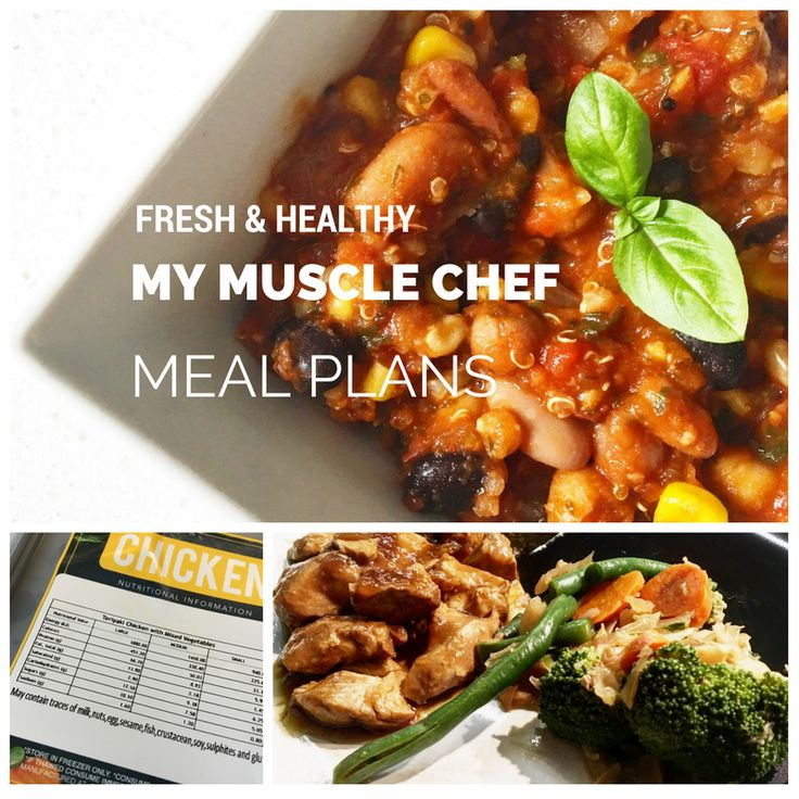 My Muscle Chef Pre-designed Meal Plan - Review