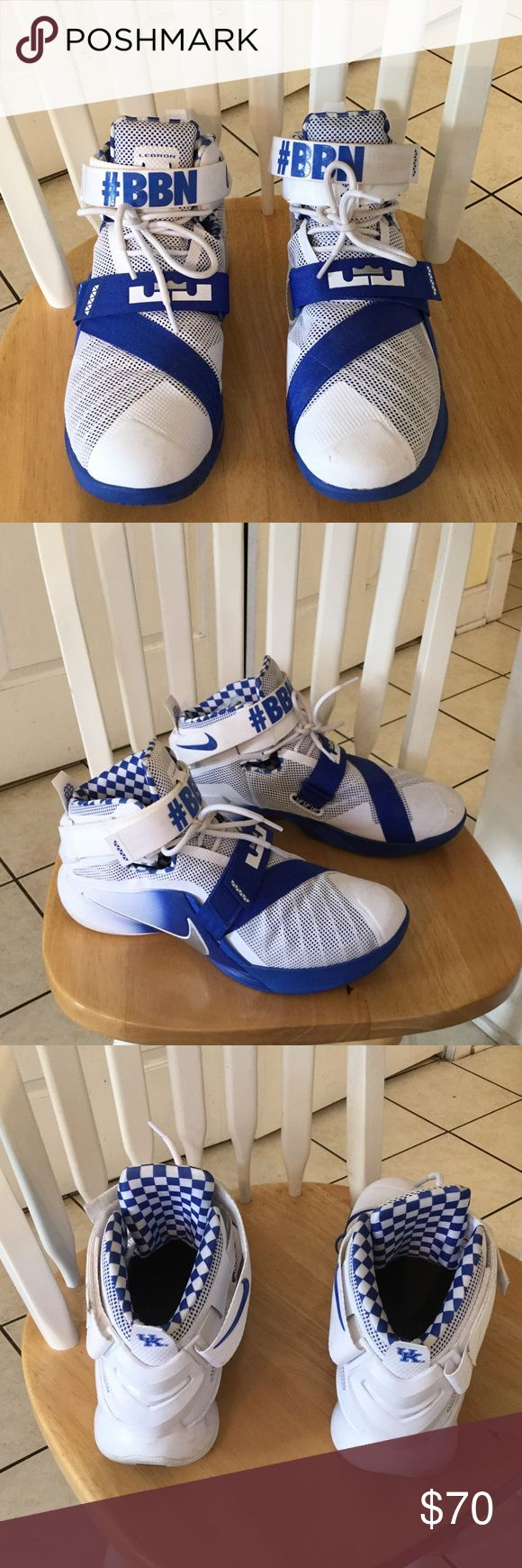 Nike Lebron shoes UK Nike Lebron's good condition lightly used Nike Shoes Athletic Shoes
