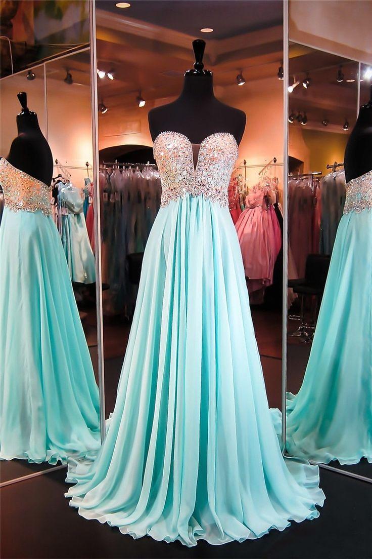 38 best Aqua Prom Dresses images on Pinterest   Aqua prom dress ...